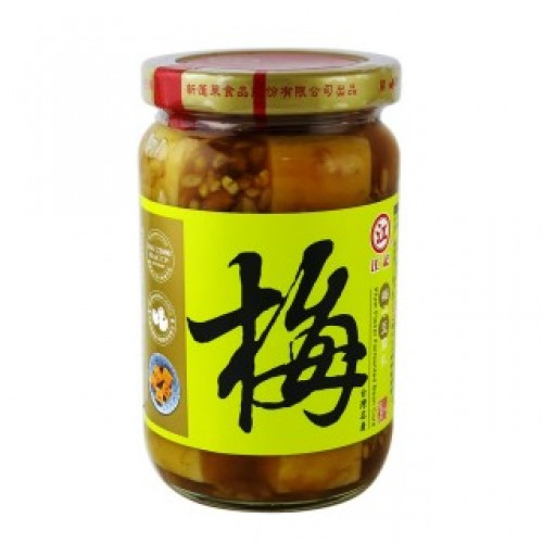 【江記】梅子豆腐乳370g/罐 12入/箱