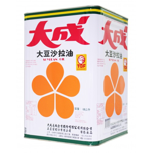 【大成】大豆沙拉油-18L