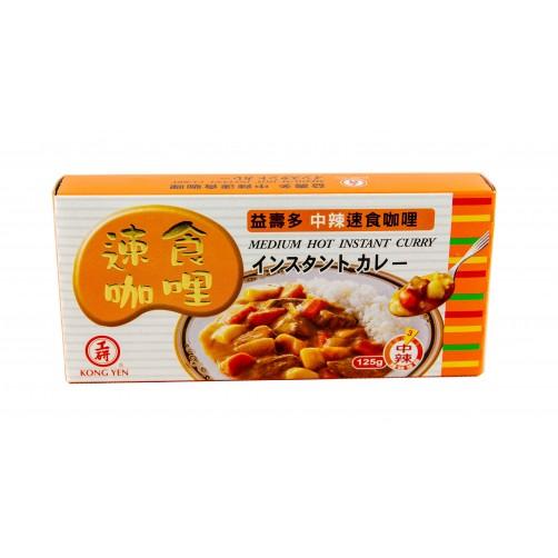 【工研】中辣咖哩125g