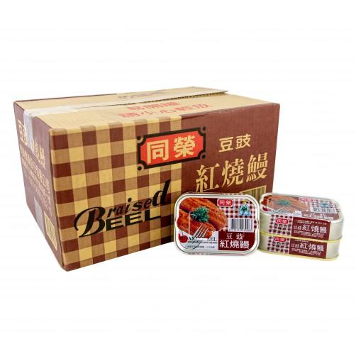【同榮】豆豉紅燒鰻80g