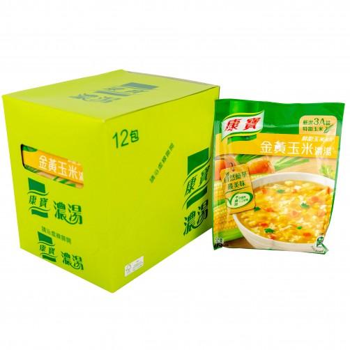 【康寶】12金黃玉米濃湯