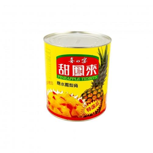 【甜鳳來】1/8鳳梨角3kg