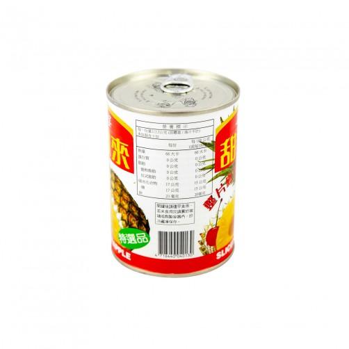 【甜鳳來】鳳梨片340g-易開罐
