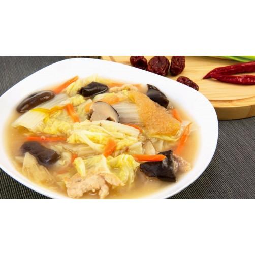 扁魚煨白菜