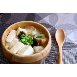 日式雪花麩味噌湯