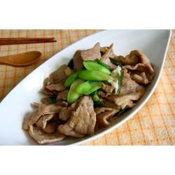 大蒜爆炒豬肉片